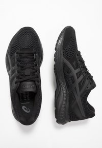 ASICS - GEL-CONTEND 5 - Neutral running shoes - black/graphite grey - 1