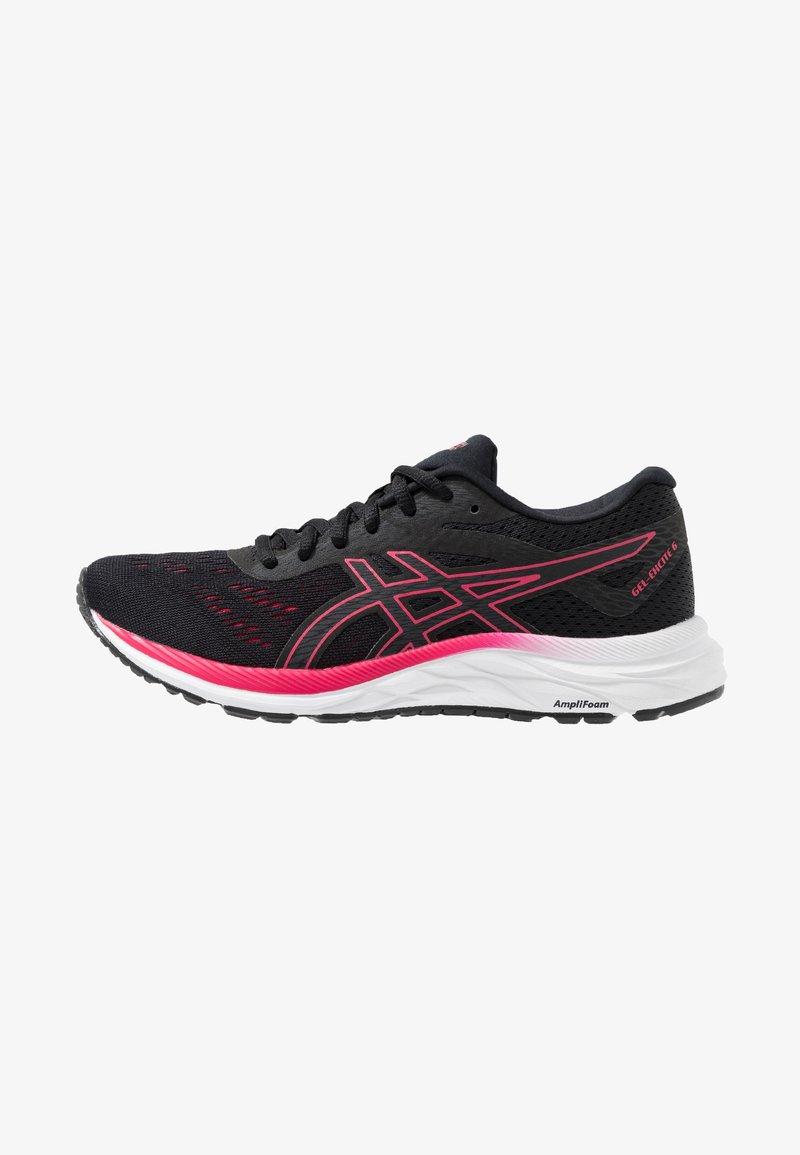 ASICS - GEL-EXCITE 6 - Neutral running shoes - black/rose petal
