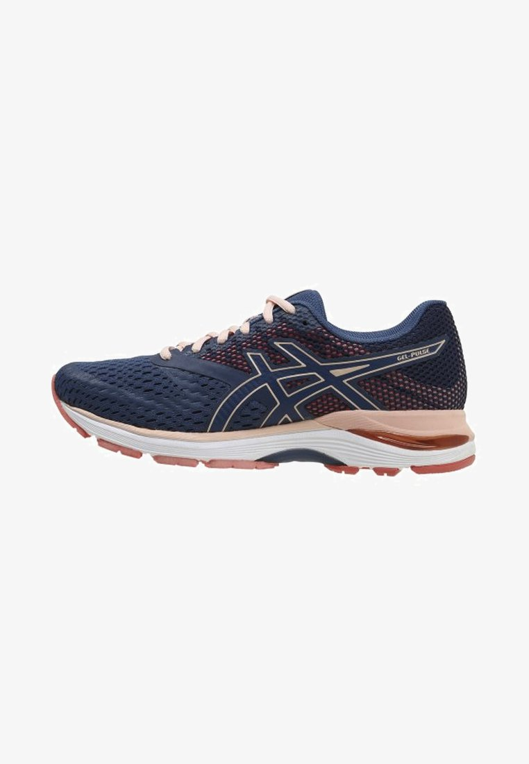 ASICS - Laufschuh Neutral - dark blue/pink