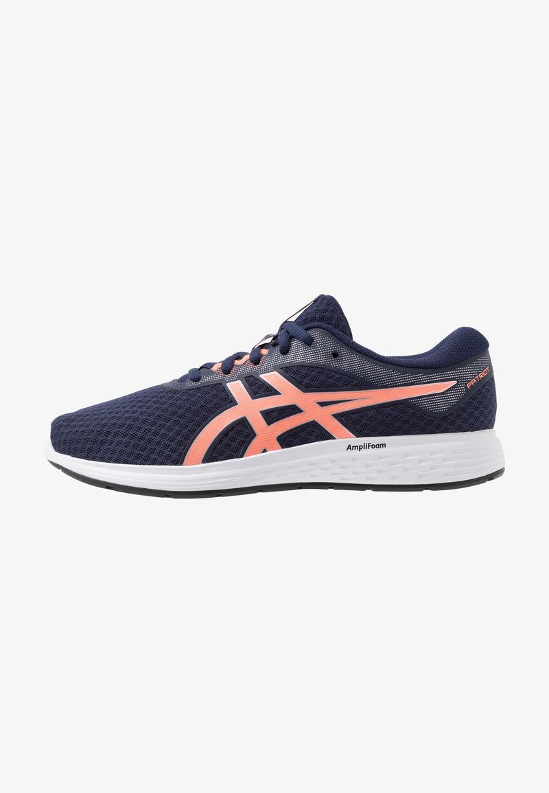ASICS - PATRIOT 11 - Neutral running shoes - peacoat/sun coral