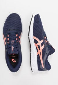 ASICS - PATRIOT 11 - Neutral running shoes - peacoat/sun coral - 1