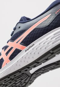 ASICS - PATRIOT 11 - Obuwie do biegania treningowe - peacoat/sun coral - 5
