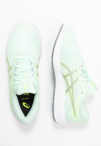 ASICS - PATRIOT 11 - Obuwie do biegania treningowe - mint tint/sheet rock - 1