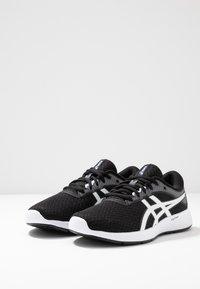 ASICS - PATRIOT 11 - Neutrální běžecké boty - black/white - 2