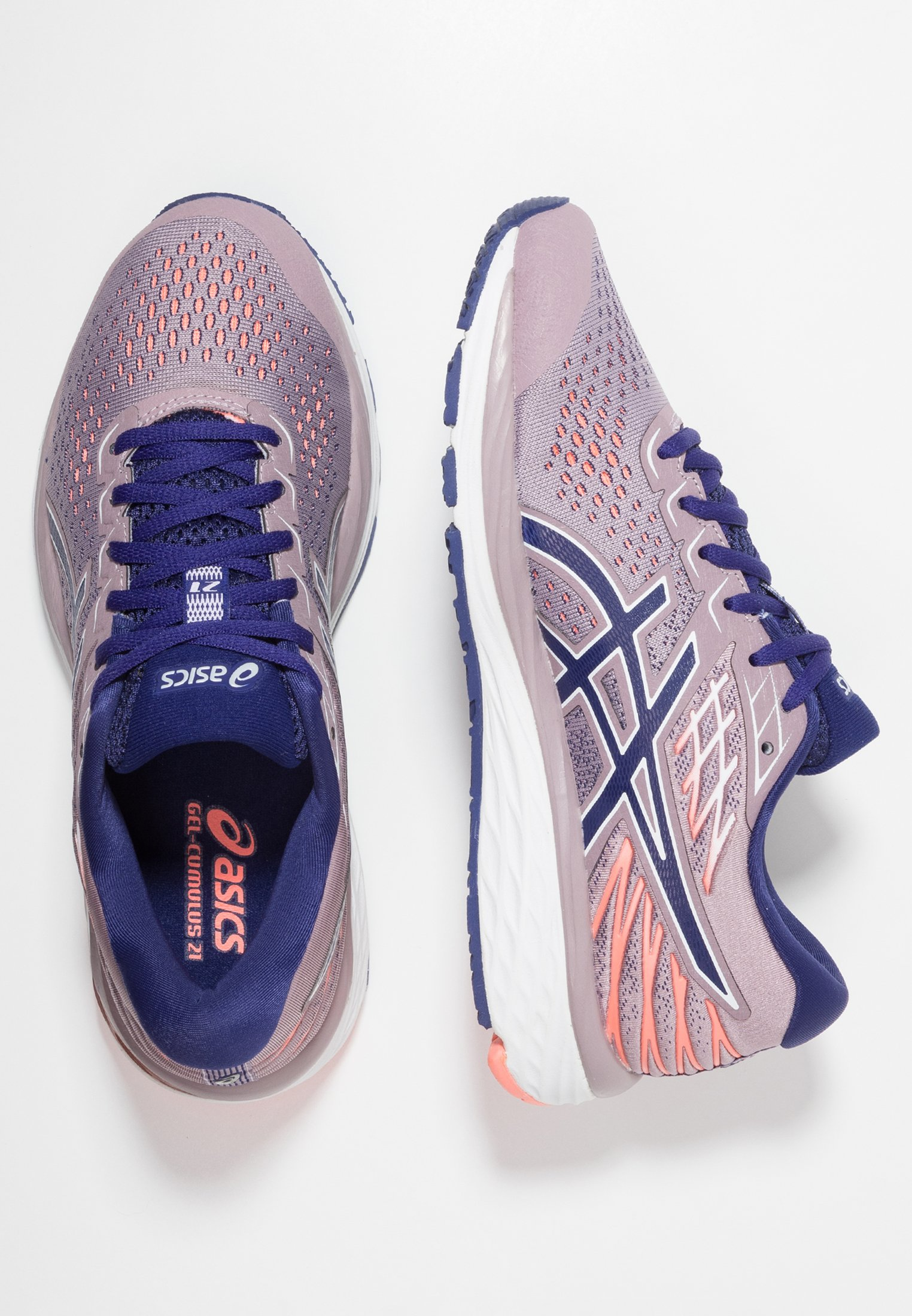 ASICS GEL-CUMULUS - Laufschuh Neutral - violet blush/dive ...
