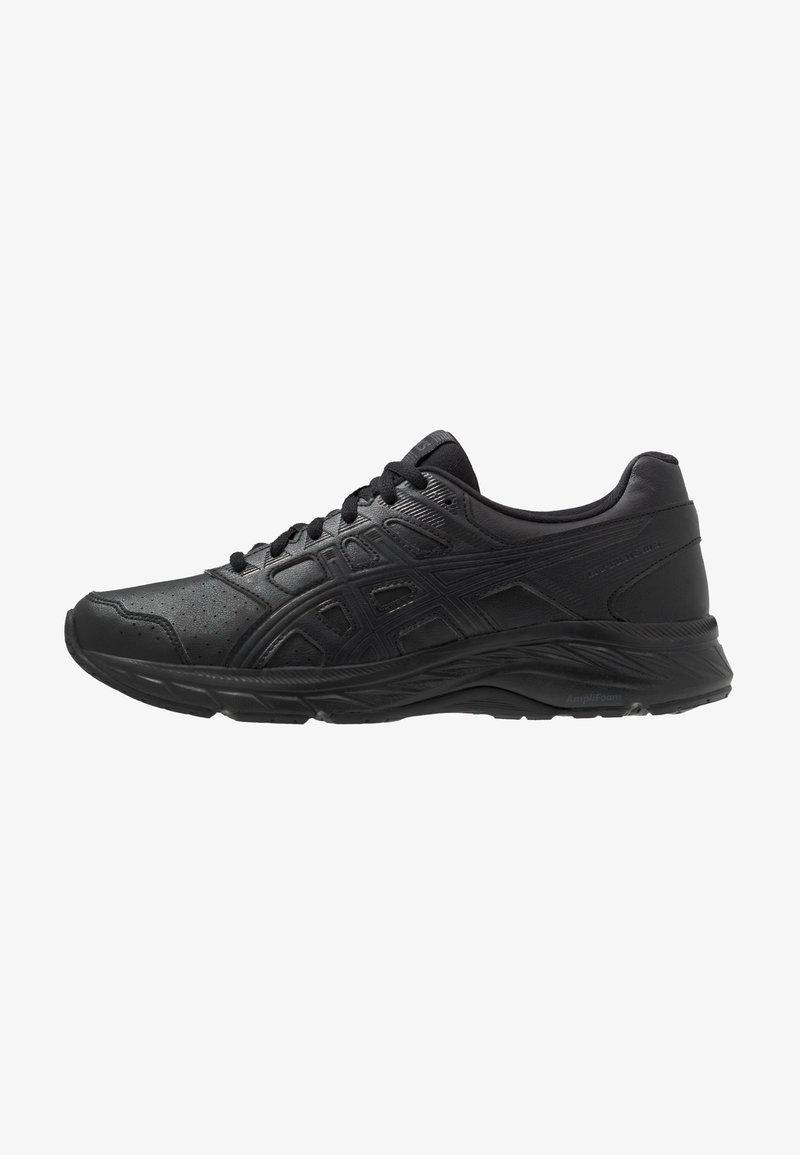 ASICS - GEL-CONTEND 5  - Neutral running shoes - black/graphite grey