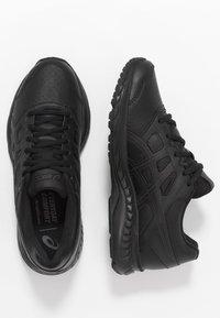 ASICS - GEL-CONTEND 5  - Neutral running shoes - black/graphite grey - 1