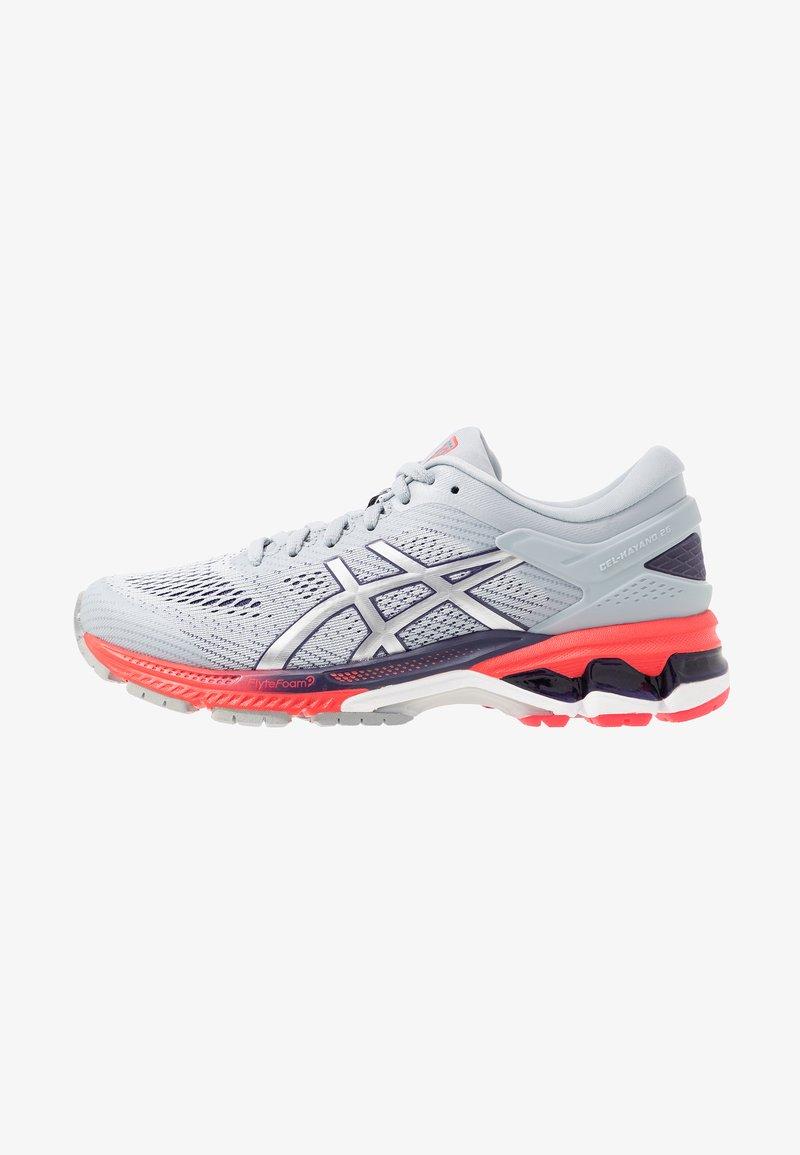 ASICS - GEL-KAYANO 26 - Zapatillas de running estables - piedmont grey/silver