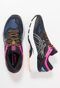 ASICS - GEL-KAYANO 26 - Stabilty running shoes - black/blue coast - 1