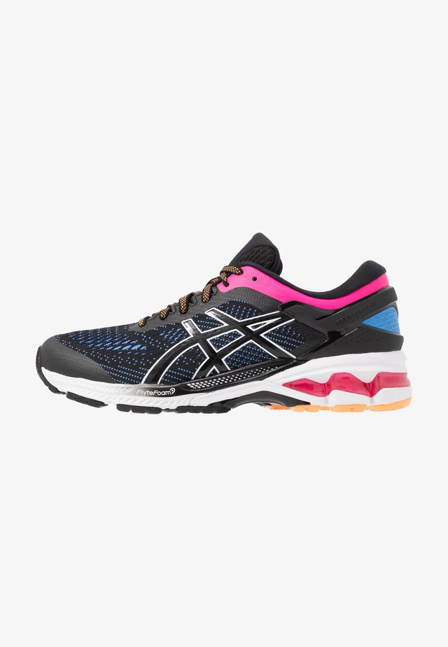 GEL-KAYANO 26 - Löparskor stabilitet - black/blue coast