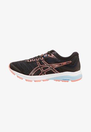 GT-1000 8 - Zapatillas de running neutras - black/sun coral
