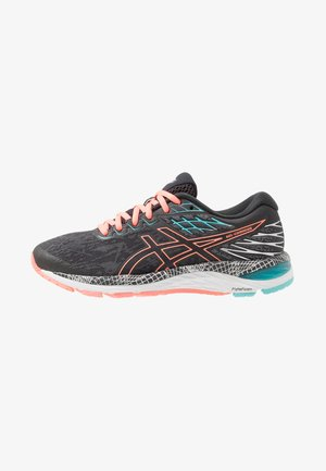 GEL-CUMULUS 21  - Neutral running shoes - graphite grey/sun coral