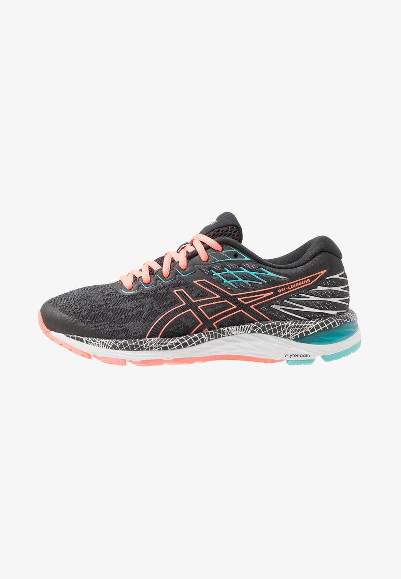 ASICS - GEL-CUMULUS 21  - Zapatillas de running neutras - graphite grey/sun coral