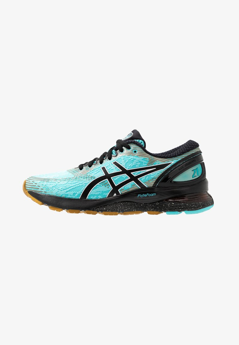 ASICS - GEL-NIMBUS 21 WINTERIZED - Neutral running shoes - ice mint/black