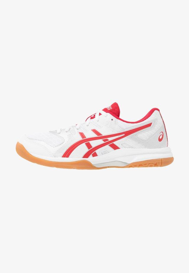 GEL-ROCKET - Volleyballsko - white/classic red
