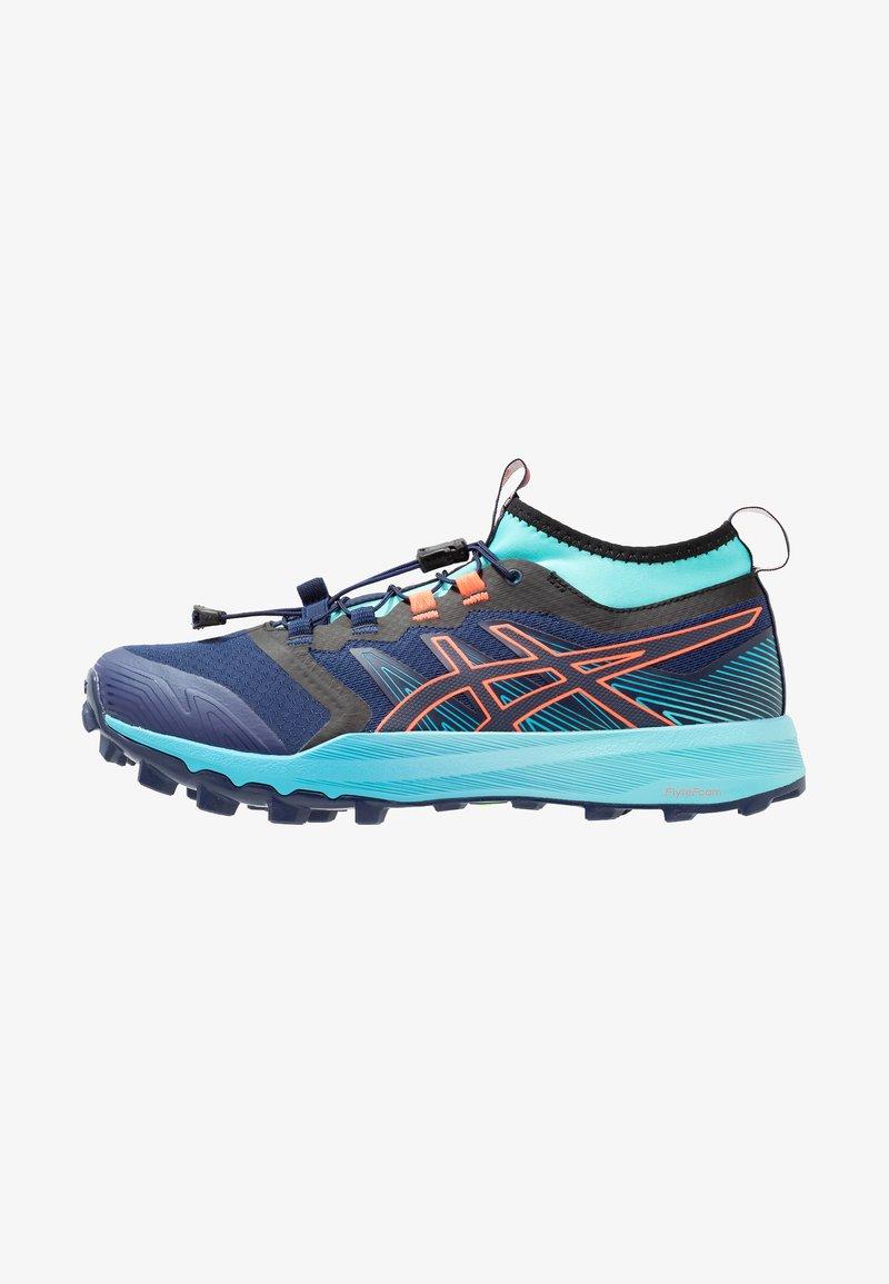 ASICS - FUJITRABUCO PRO - Trail running shoes - blue expanse