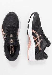 ASICS - GEL-KAYANO 26 - Obuwie do biegania treningowe - black/rose gold - 1