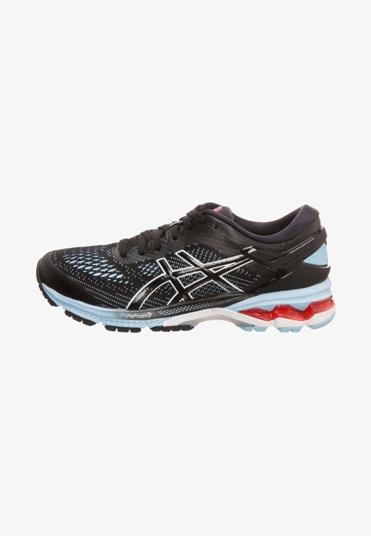 ASICS - Neutral running shoes - black / heritage blue