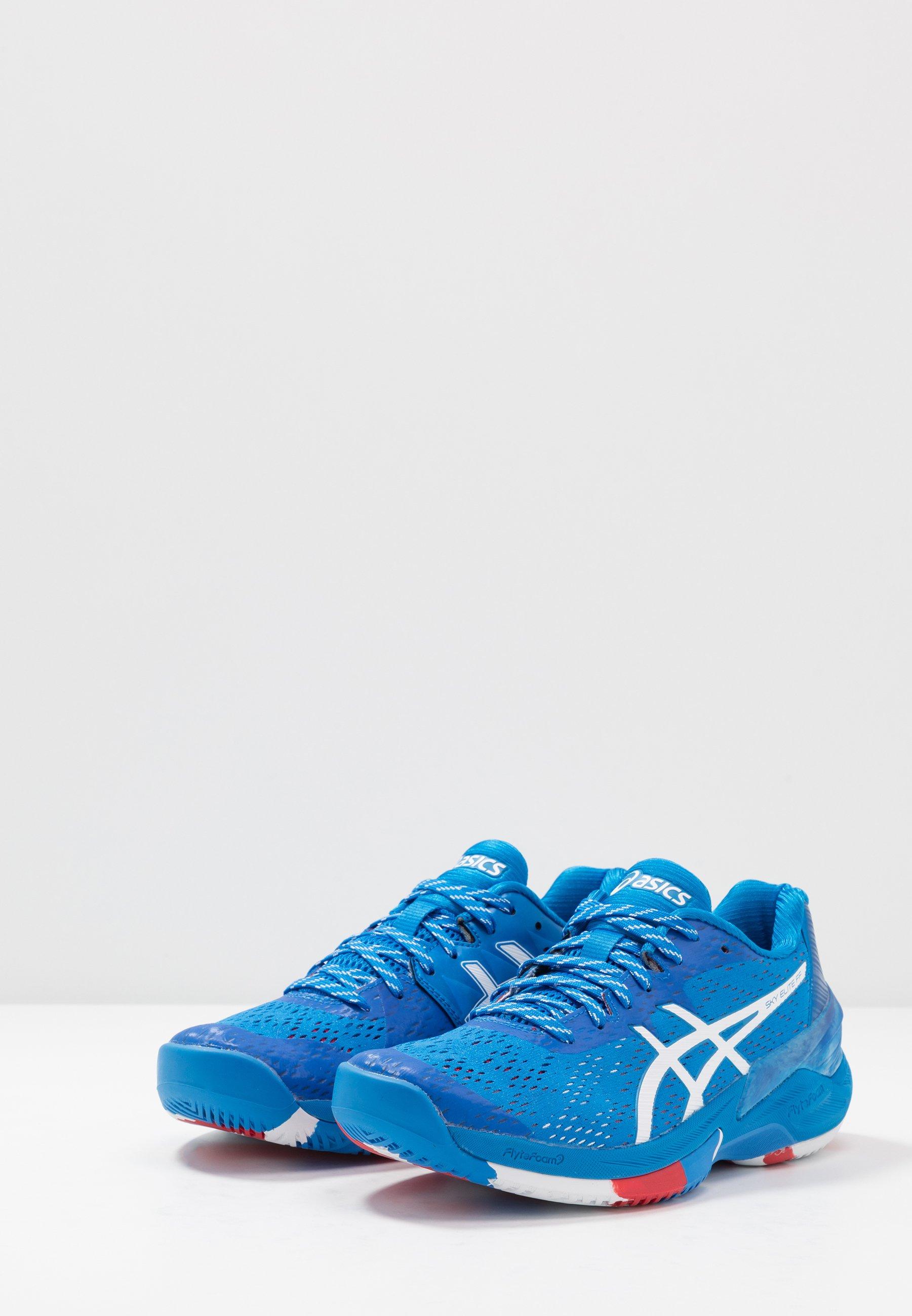 Asics Sky Elite Ff - Chaussures De Handball Electric Blue/white