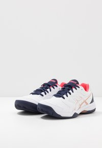 ASICS - GEL-DEDICATE 6 CLAY - Clay court tennis shoes - white - 2