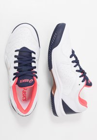 ASICS - GEL-DEDICATE 6 CLAY - Clay court tennis shoes - white - 1