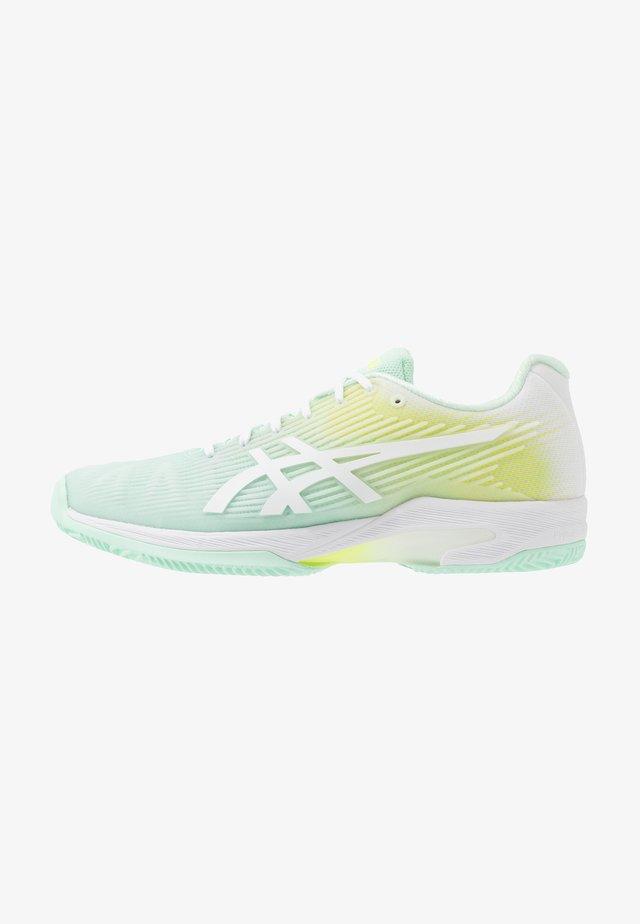 SOLUTION SPEED FF CLAY - Tennisschoenen voor kleibanen - mint tint/white