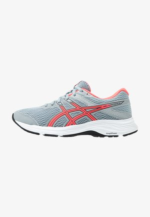 GEL-CONTEND 6 - Neutral running shoes - sheet rock/diva pink