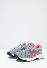 ASICS - GEL-CONTEND 6 - Neutral running shoes - sheet rock/diva pink - 2