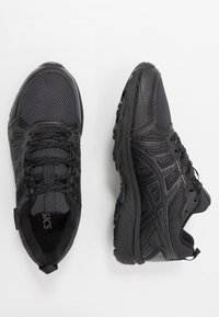 ASICS - GEL-VENTURE 7 WP - Trail running shoes - black/carrier grey - 1
