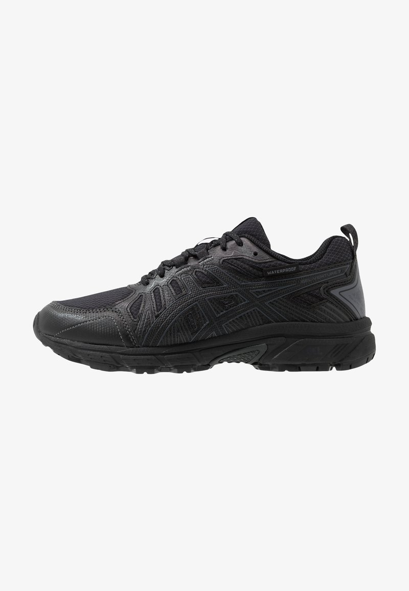ASICS - GEL-VENTURE 7 WP - Trail running shoes - black/carrier grey