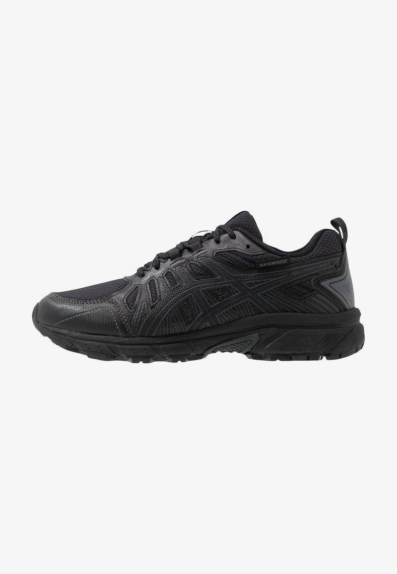 ASICS - GEL-VENTURE 7 WP - Chaussures de running - black/carrier grey
