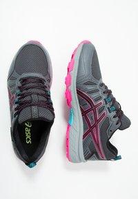 ASICS - GEL-VENTURE 7 WP - Trail running shoes - black/pink - 1