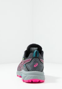 ASICS - GEL-VENTURE 7 WP - Trail running shoes - black/pink - 3