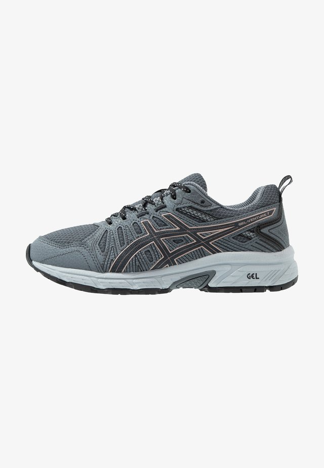 GEL-VENTURE 7 - Trail running shoes - graphite grey/rose gold
