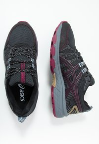 ASICS - GEL-VENTURE 7 - Trail running shoes - graphite grey/dried berry - 1