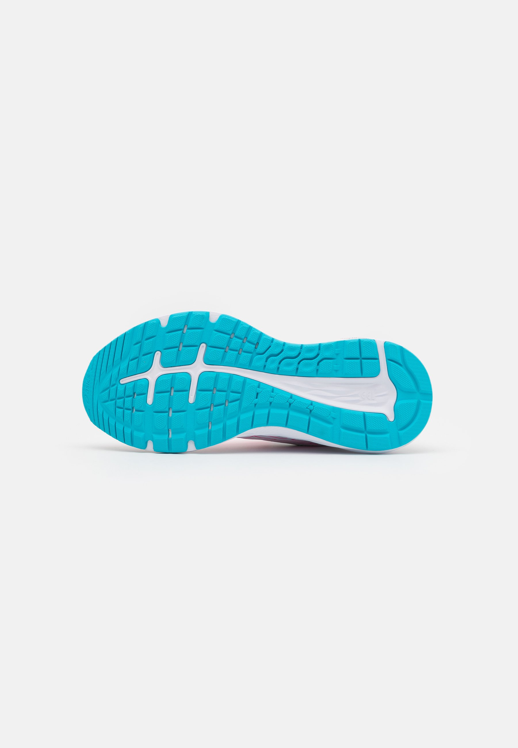 Asics Gel-excite 7 - Hardloopschoenen Neutraal White/safety Yellow Goedkope Schoenen