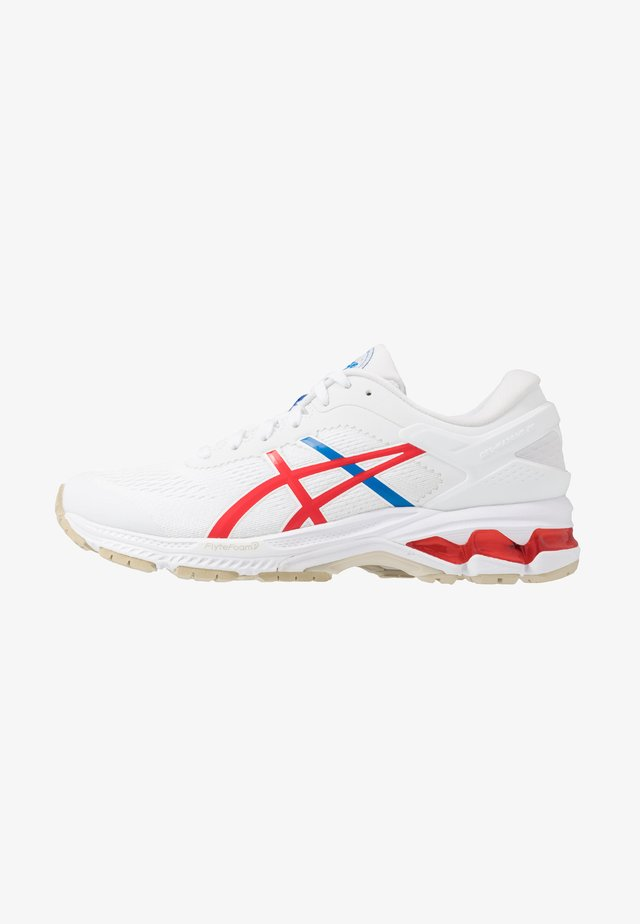 GEL-KAYANO 26 - RETRO TOKYO - Stabilty running shoes - white/classic red