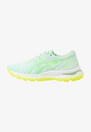 GEL-NIMBUS 22 MODERN TOKYO - Scarpe running neutre - mint tint/safety yellow