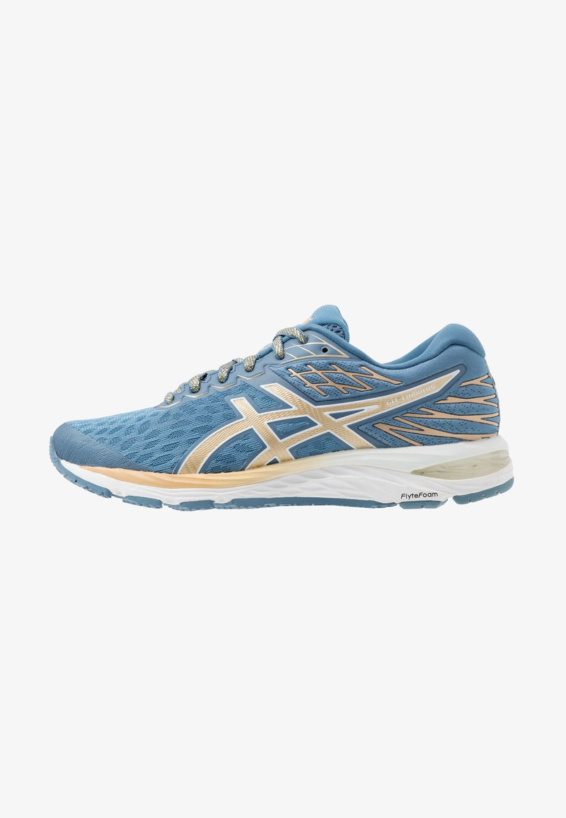 ASICS - GEL-CUMULUS 21 THE NEW STRONG - Obuwie do biegania treningowe - grey floss/champagne