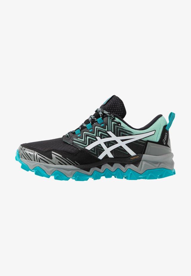 GEL-FUJITRABUCO 8 G-TX - Zapatillas de trail running - fresh ice/white