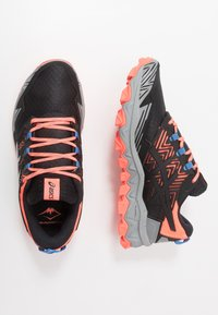 ASICS - GEL-FUJITRABUCO 8 - Trail running shoes - flash coral/sheet rock - 1