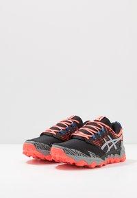 ASICS - GEL-FUJITRABUCO 8 - Trail running shoes - flash coral/sheet rock - 2