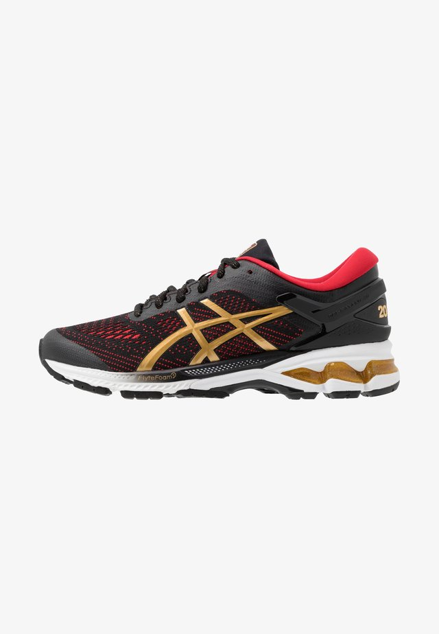 GEL-KAYANO 26 - LUCKY - Stabilty running shoes - black/pure gold