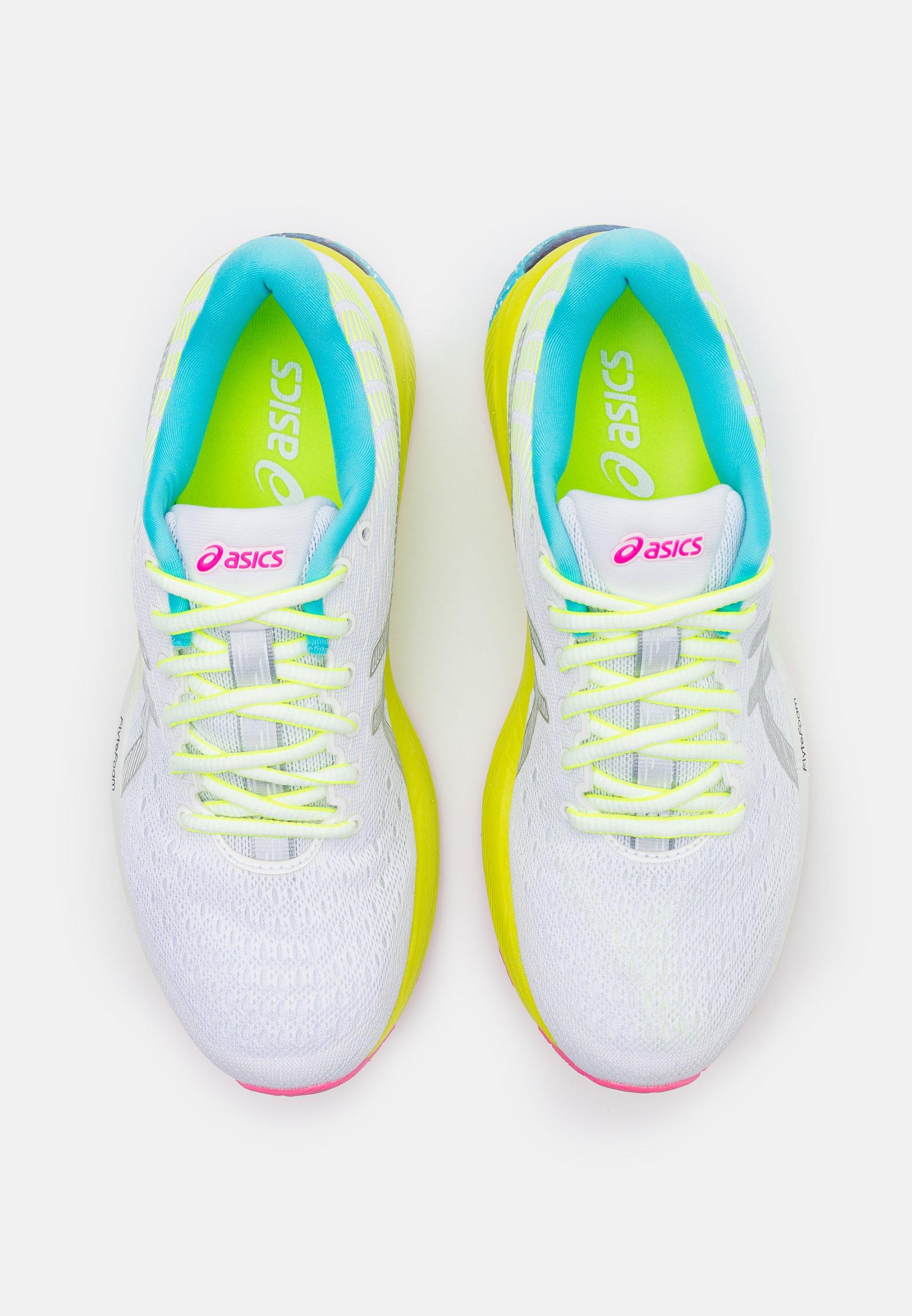 GEL CUMULUS 22 SUMMER LITE SHOW Chaussures de running neutres whitepure silver