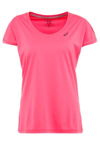 ASICS - CAPSLEEVE - Camiseta estampada - laser pink heather - 0