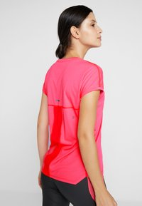 ASICS - CAPSLEEVE - Camiseta estampada - laser pink heather - 3