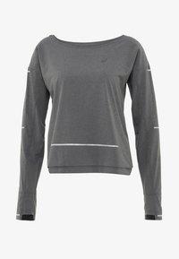 ASICS - LITE-SHOW COVER UP - Sportshirt - dark grey heather - 5
