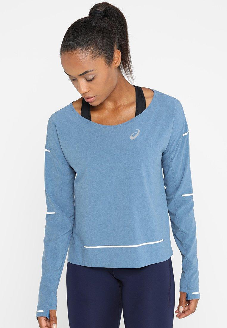 ASICS - LITE-SHOW COVER UP - T-shirt de sport - azure heather