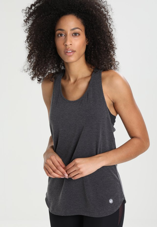 TANK LIMELIGHT - Funktionsshirt - performance black heather