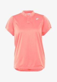 ASICS - PRACTICE  - Print T-shirt - papaya - 4